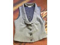 Grey ladies waistcoat size 8/10