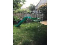 TP Climbing Frame and Slide - SOLD