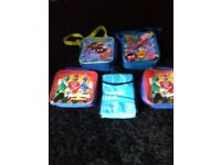 5 kids lunch bags