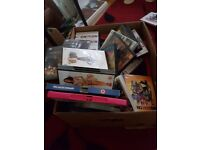 Box of dvds not sure how many