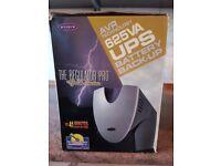 Belkin AVR Technology 625VA UPS Battery Backup - The Regulator Pro Gold Series