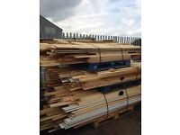 MIXED PALLETS OF TIMBERS .....