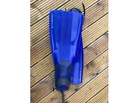 Scuba diving and snorkelling fins Size - Adult
