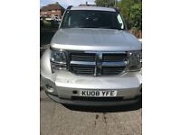 Clean Dodge Nitro 2008, £4,500 ONO. SATNAV, Reversing Camera, low mileage, good interior, automatic