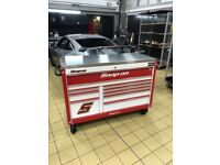 Snap On classic 78 with stainless top tool box