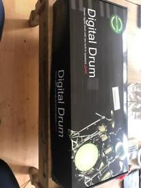 Digital drum machine portable