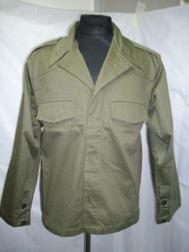 Indochina French Vietnam 52 patt HBT green shirt L