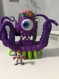 Imaginext octopus with figure