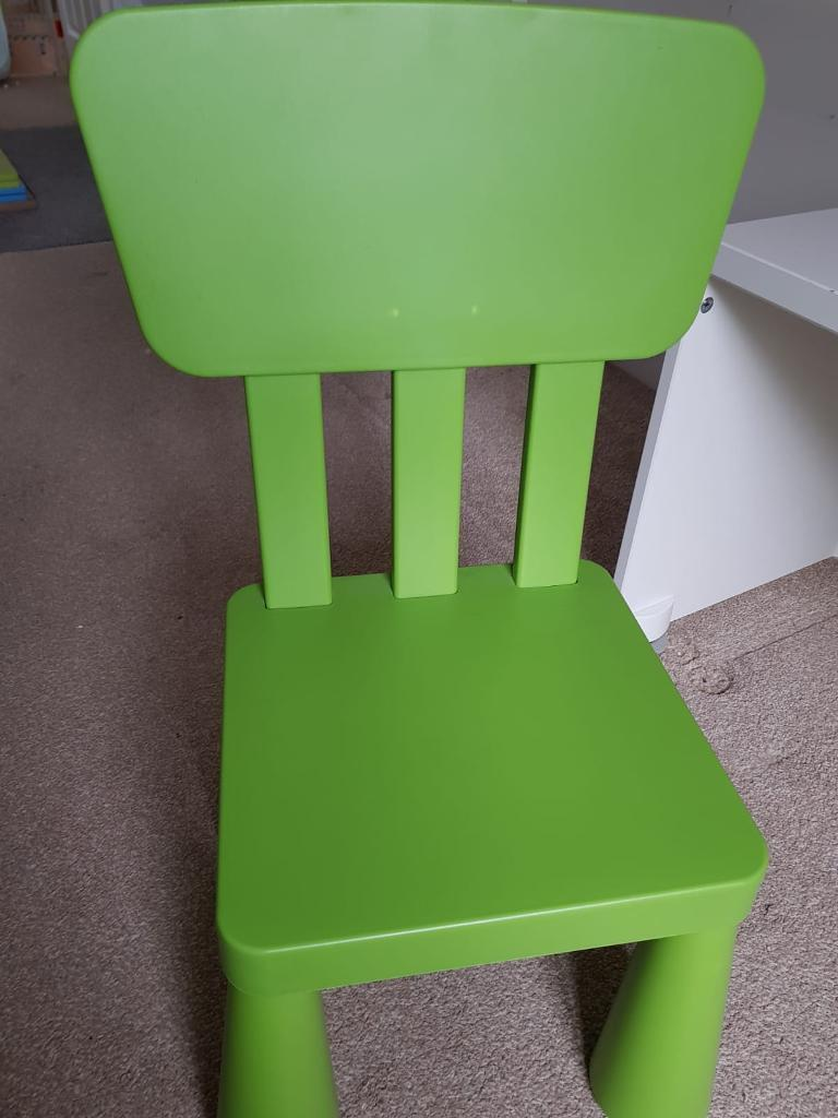 Outstanding Ikea Kids Green Chair In Swindon Wiltshire Gumtree Onthecornerstone Fun Painted Chair Ideas Images Onthecornerstoneorg