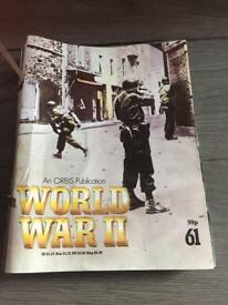 World war 2. Magazine in binder