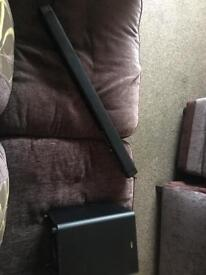Logik soundbar and sub