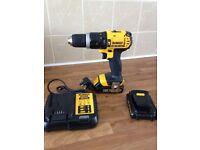 Brand new 2 18v dewalt drills and brand new 18v Makita drill