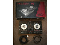 Pioneer DDJ SB with cables