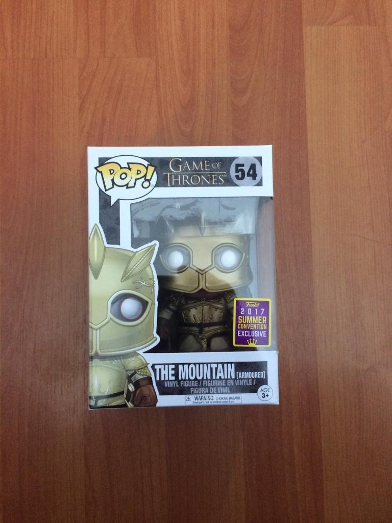 Funko Pop game of thrones special edition the mountain