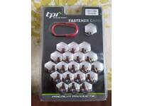 New tpi 19mm hex chrome fasteners