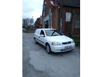 Astra van 1.7 td gd condition 2 owners service history full Mot drives great