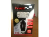 LED GuardCam Security Camera Combined Floodlight System