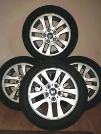 "Genuine BMW 3 series/e90 16"" alloy wheels"