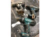 Makita drills spares or repairs