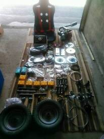 Go kart / buggy project parts price reduced urgent sale