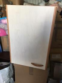 2x wall mount cupboards