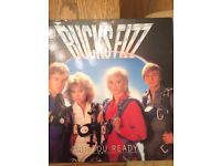Bucks Fizz LP record from 1982 -'Are You Ready' - gatefold sleeve