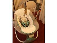 Ingenuity baby convert me swing 2 seat
