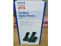 BRAND NEW TWIN DIGITAL CORDLESS PHONES