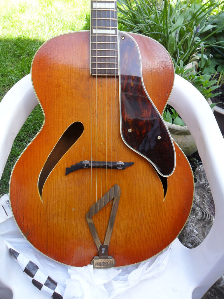 gretsch usa synchromatic archtop. c 1940s px poss