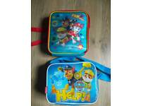 Paw Patrol lunch bags