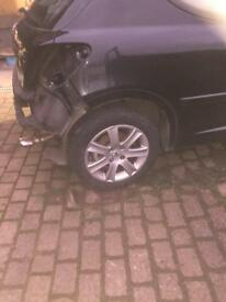 """Peugeot 16""""alloys with tyres"""