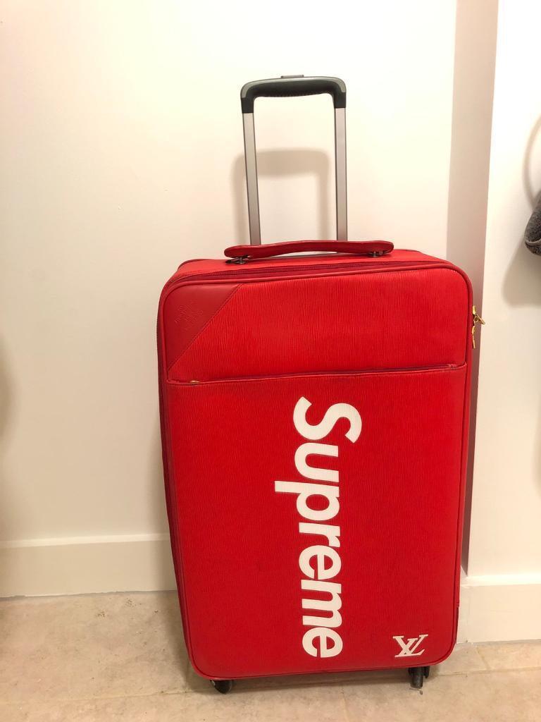 fed7b58ea7d5 Supreme Louis Vuitton suitcase