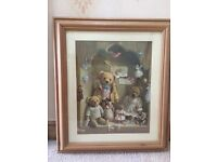 Framed Teddy Bear Pictures