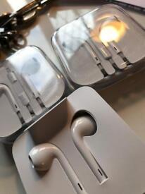 Apple official earphones 3 sets £5 each