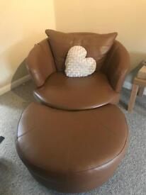 Sofa and chair for sale £150