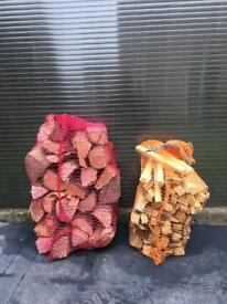 Ready To Burn Netted Logs