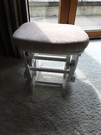 Foot stool for rocking chair