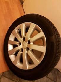 Honda civic type r type s alloy wheel with tyer 1x alloy wheel