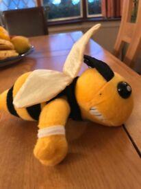 Children's teddy bee