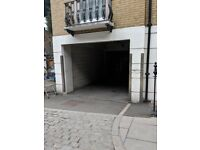 Secure gated parking in Kings Cross, WC1X