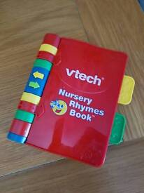 V Tech Baby Nursery Rhymes Book
