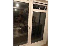 Patio door and window