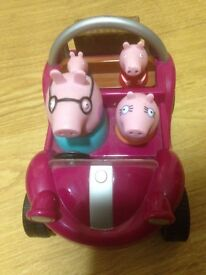 Kids Peppa Pig Toy Which Also Makes Noise