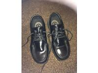 Size 6.5 Rockport black trainers