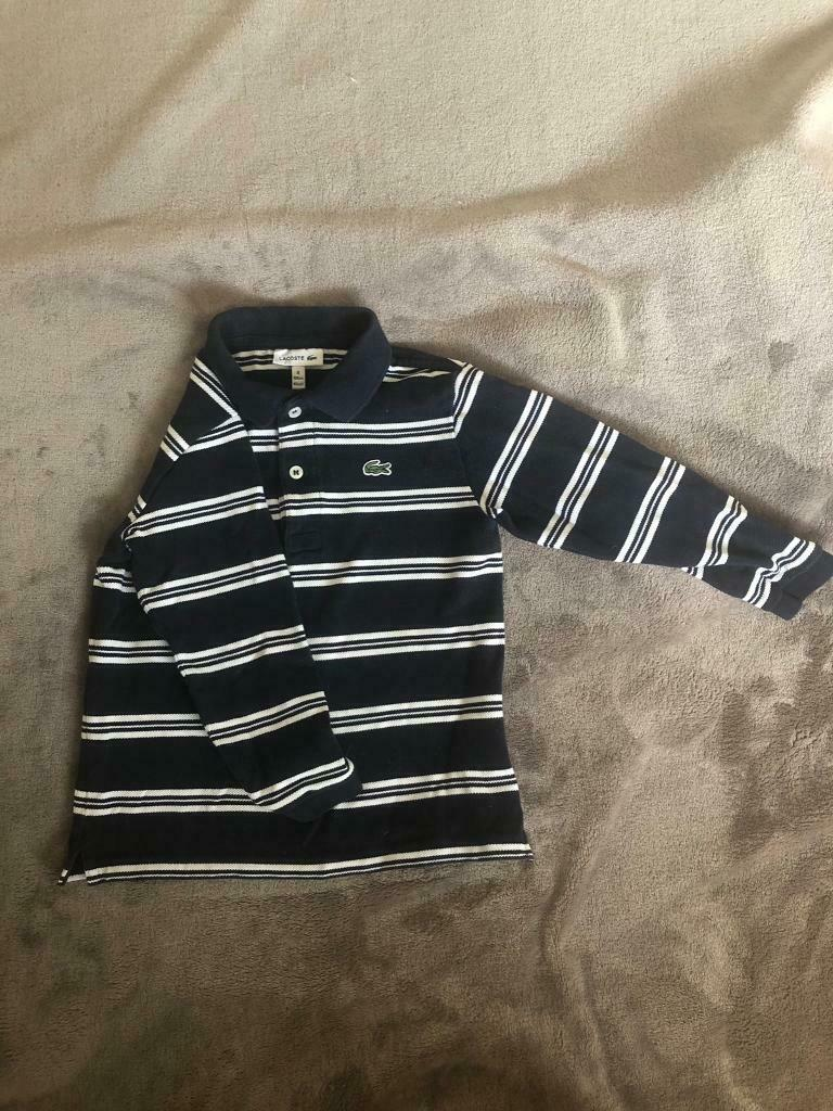 0d7f5d5ab03e Boys infant toddler Lacoste long sleeve polo t shirt top | in Plymouth ...