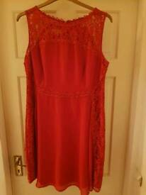 Red Monsoon dress Size 18