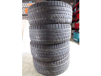 Winter Tyres, Nordicca, set of 4, part worn but good condition