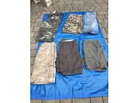 6 pairs of men's shorts