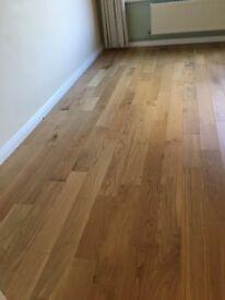 Solid oak flooring 18 mm click flooring