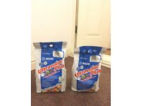 2 x MAPEI SILVER GREY GROUT 5KG BAGS
